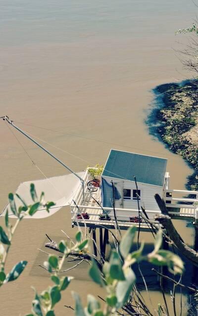 Fischerhäuschen in Meschers sur Gironde - ©P.Migaud / FDHPA17