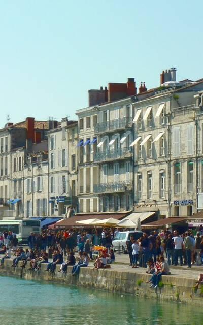 Die Kais von La Rochelle - © FDHPA 17