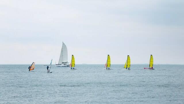 Voiliers en bord de mer - ©FDHPA17 / PW Photographie