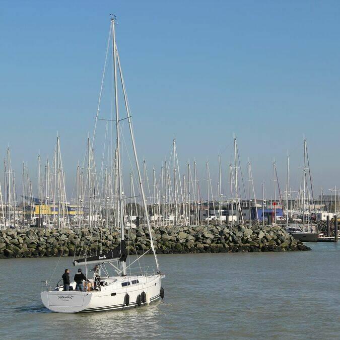 """Der Hafen """"Les Minimes"""" in La Rochelle  © Perrine BELIN / CMT"""